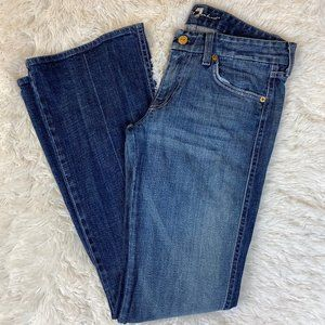 7 For All Mankind Bootcut Jeans 28